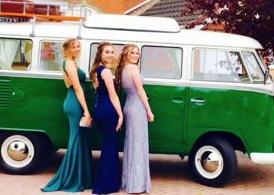 Prom Night VW car hire service