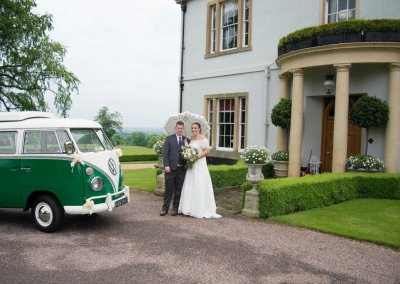 VW wedding car hire service